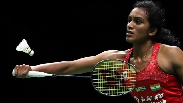 In the first game, Sindhu looked a bit nervous and took time to get into the groove, resulting in Yamaguchi racing away to a 5-0 lead.