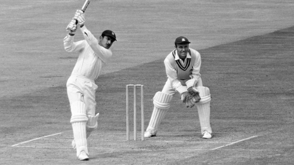 Ajit Wadekar in action.