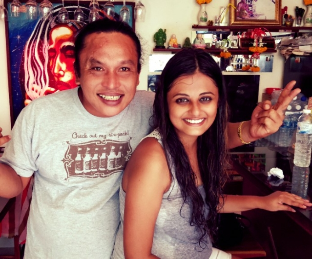 Bang Bang- my favourite person in all of Krabi!