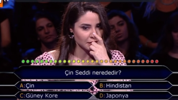 "A TV contestant on KBC Turkey became the subject of ridicule after failing to answer the question, ""Where is Great Wall of China?"""