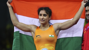 Asian Games 2018: Vinesh Phogat has won a gold medal in wrestling.