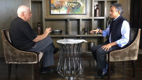 Walter K Andersen, author of 'RSS: A View to the Inside' in conversation with Editorial Director of <b>The Quint</b>.