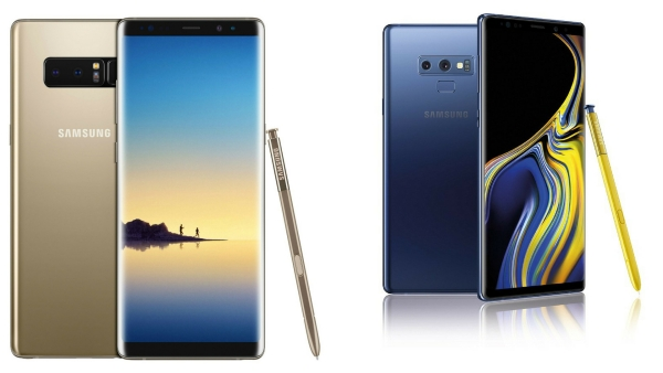 Samsung Galaxy Note 9 vs Galaxy Note 8: What's New With the Note