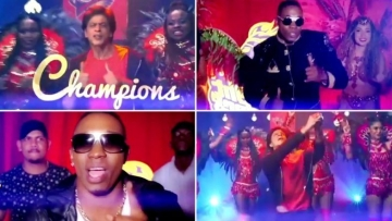 Shah Rukh, DJ Bravo Feature in a Video for Trinbago Knight Riders