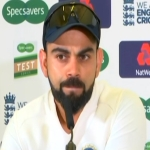Virat Kohli speaks to the media ahead of the third Test between India and England.