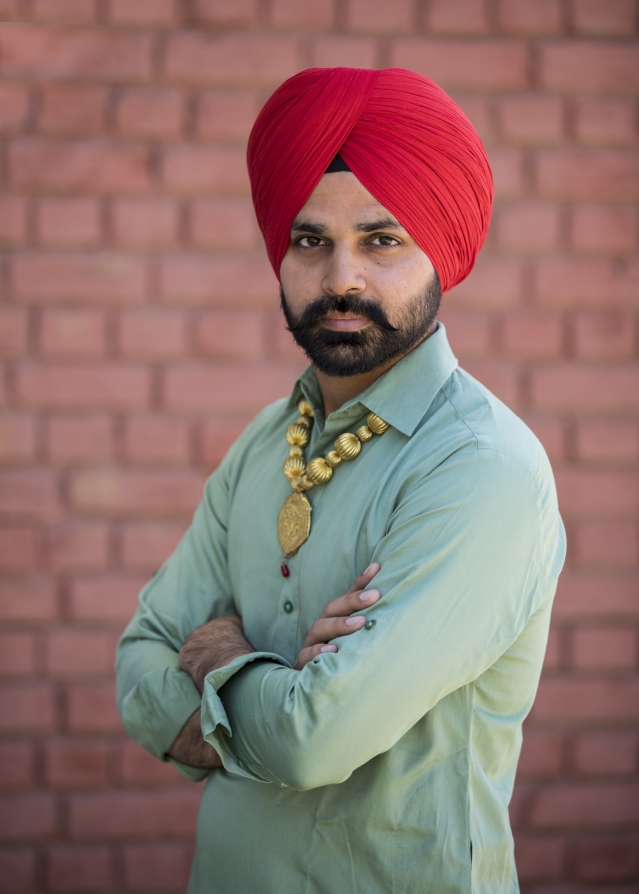 Ghuman believes he found success only after he embraced his identity.