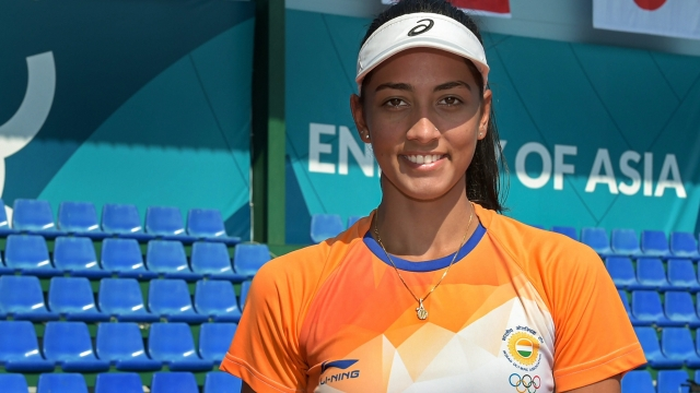 Asian Games 2018: File photo of Indian tennis player Karman Kaur Thandi