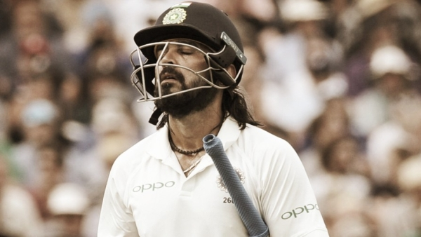 In the recent series against England, Vijay has scored just 26 runs in two Tests till now.