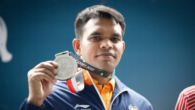 Deepak Kumar bagged a silver in the men's 10m rifle event at the 2018 Asian Games.