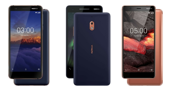 Nokia 2.1, Nokia 3.1 and the Nokia 5.1 are  available to buy in India now.
