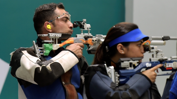 Apurvi Chandela and Ravi Kumar won India's first medal at this year's quadrennial event.