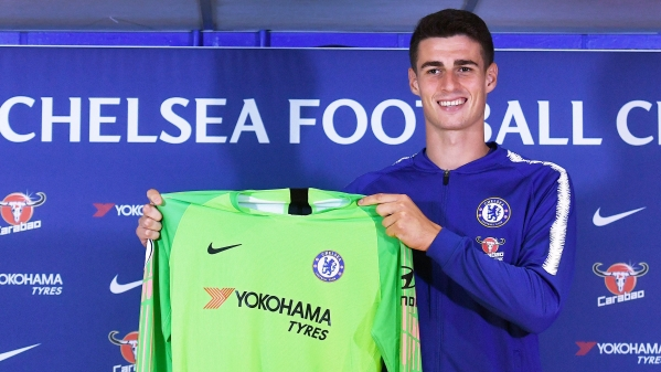 Chelsea has signed Athletic Bilbao goalkeeper Kepa Arrizabalaga for a record fee after selling Thibaut Courtois to Real Madrid.