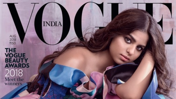 Suhana Khan is on the August cover of Vogue India. Deal with it.