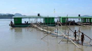 The flooded Brahmaputra river. Image used for representational purposes.