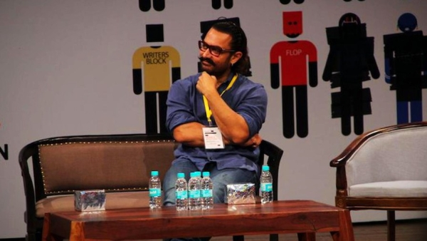 Aamir Khan at the fifth edition of the Indian Screenwriters Conference.