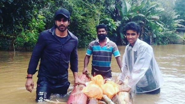 Malayalam Actor Rajeev Joins Rescue Ops In His Hometown In Kerala