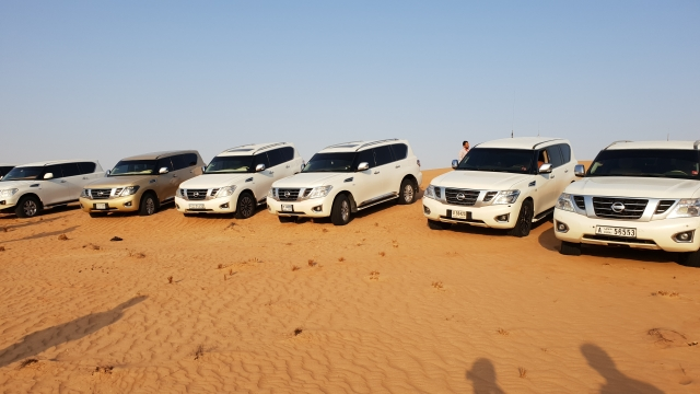 The Nissan Patrol is powered by a 5.6-litre V8 engine.