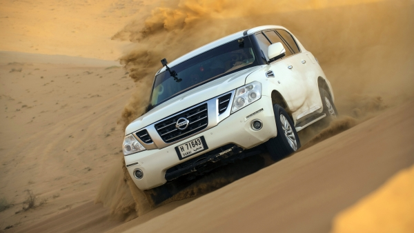 From Dunes to Highways, I Got a 'Kick' Driving in Dubai