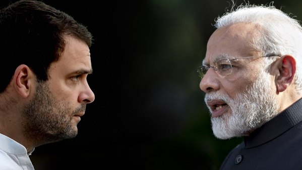 Congress President Rahul Gandhi again tore into the Narendra Modi government over the Rafale deal – this time in Amethi.