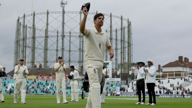 Alastair Cook finished his Test career with 12,254 runs in 161 Tests.