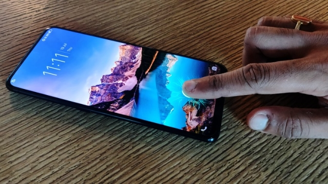 Vivo Nex already offers in-display fingerprint reader.