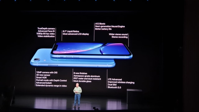 The iPhone Xr is also a Dual-SIM model but with IP67 protection.