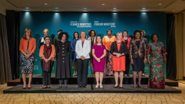The announcement was made during Women Foreign Ministers' Meeting.
