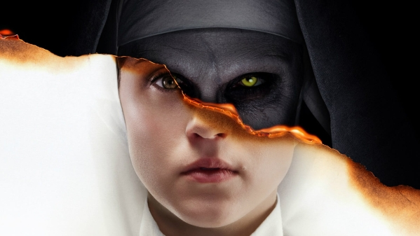 A poster of <i>The Nun</i>.