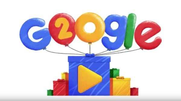 Google celebrates its birthday on 27th September.