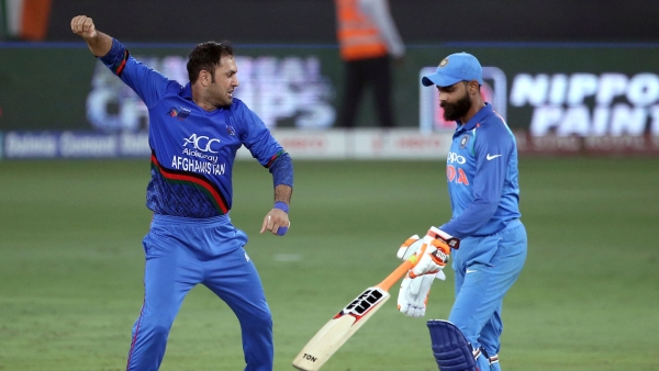 India and Afghanistan ended with scores level in a thrilling last-over finish in the Asia Cup.
