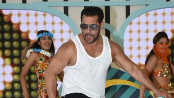 Salman Khan at the launch of Bigg Boss 12.