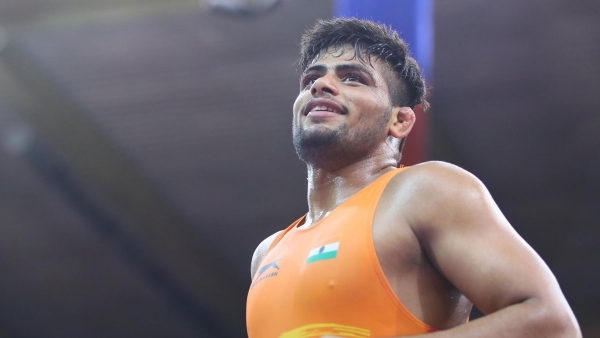 File picture of Sajan Bhanwal, the first Indian to win back-to-back medals at the Junior World Wrestling Championship. (Representational picture)