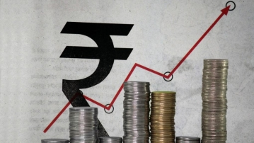 The Indian Rupee has hit an 11 month high against the Dollar.
