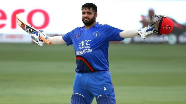 Mohammad Shahzad scored a century against India in the Asia Cup.