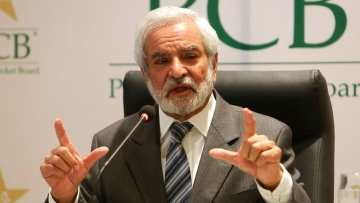 File photo of Ehsan Mani, Chairman of Pakistan Cricket Board.