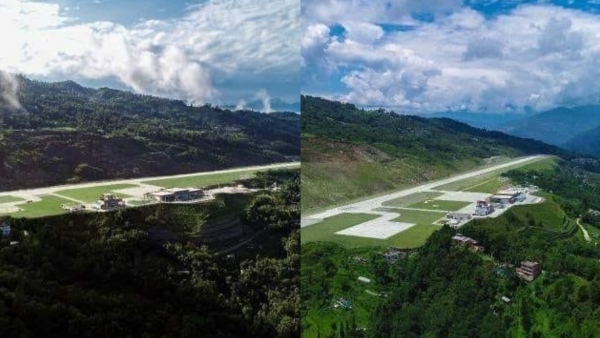 Sikkim's first and India's 100th airport, the Pakyong Airport is being hailed as an engineering wonder.