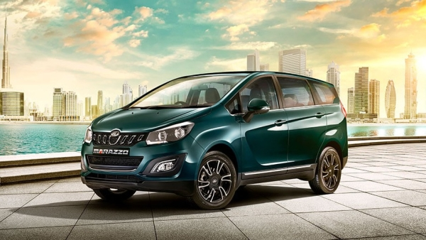 The Mahindra Marazzo is a shark-inspired MPV that can seat seven.