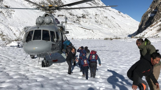 6 bikers along with 20 tourists rescued in first sortie by Indian Air Force on 28 September, Friday.