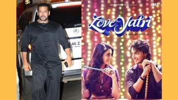 Salman Khan changes the title of <i>LoveRatri </i>to avoid controversy.