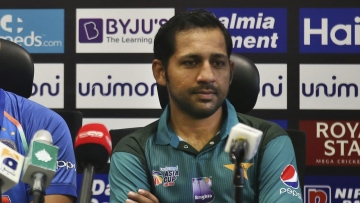 "Pakistan captain Sarfraz Ahmed said he accepted his ""mistake"" after being banned for his racial remarks against a South African cricketer."