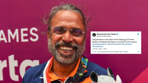 Asian Games: Twitter Congratulates Historic Bridge Gold Medallists
