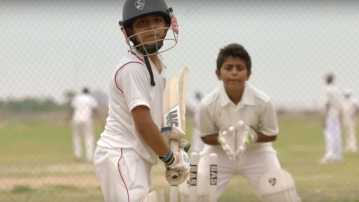 Wear a helmet, whether on the cricket field or off it.