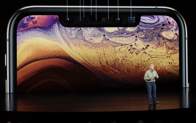 Apple's marketing VP, Philip Schiller introduces the iPhone XS.