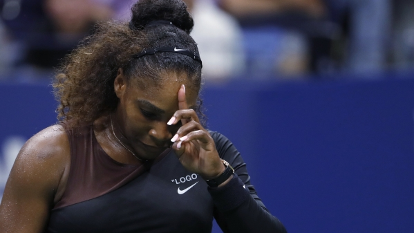 Serena Williams during her 2018 US Open campaign.