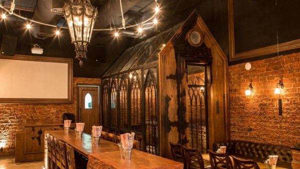 The interiors of Goregaon Social, the pub under the scanner.