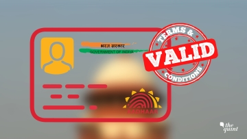 These are the key takeaways and highlights of the Supreme Court's verdict on the constitutional validity of Aadhaar. (Photo:<b> The Quint</b>)