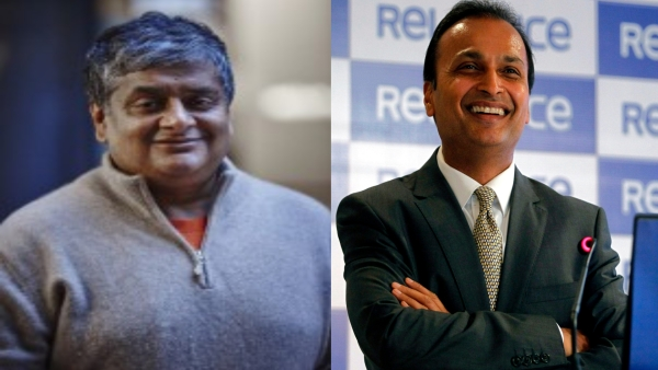 Ravi Viswanathan (L) and Anil Ambani (R) purchased about 30 per cent stake in Nashik Vintners in 2014.
