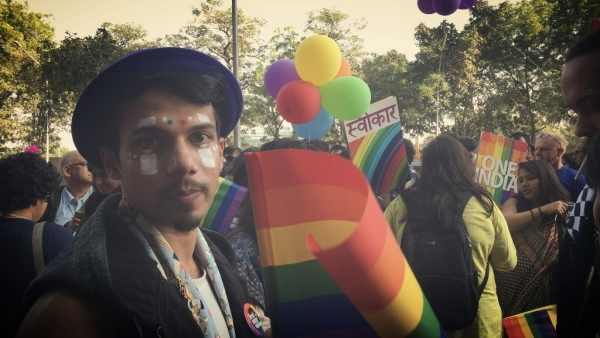 A still from the 9th Queer Pride Parade, Delhi. Image used for representation.