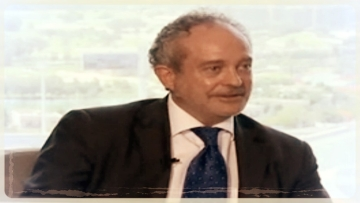 Screenshot of the interview of Christian Michel James with NDTV in Dubai on 12 May 2016.