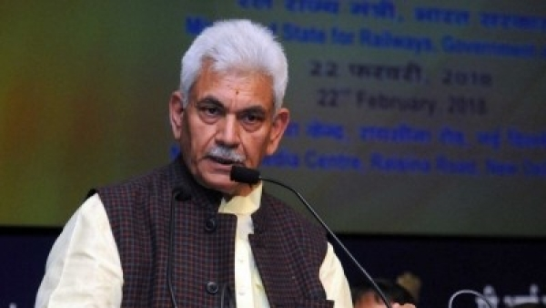 Union MoS Communications Manoj Sinha.